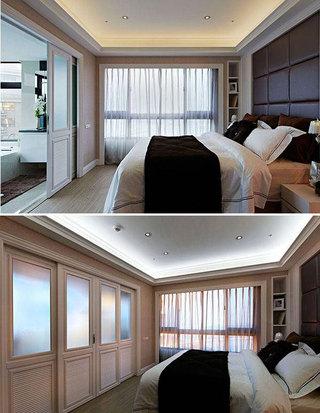 欧式风格三居室130平米设计图