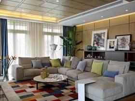 130平现代中式公寓 全家尽享天伦之乐