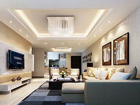 14個現代客廳案例 盡顯時尚大氣