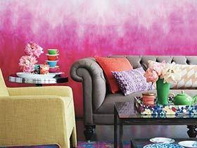渐变色装饰墙面 15款创意墙面设计