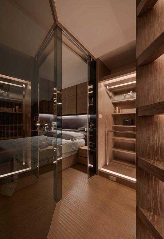 简约风格一居室50平米装修效果图