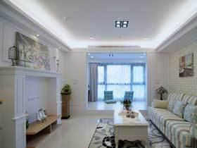 小资奢侈空间 56平美式一居