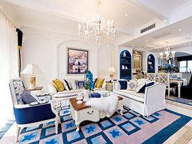 优雅浪漫 12个地中海风格客厅设计