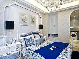 13个地中海卧室装修效果图 清新海风吹进家