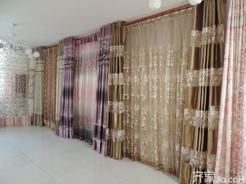 窗帘罗马杠安装方法_罗马杆窗帘安装步骤图 罗马杆窗帘效果图 罗马杆窗帘 - 赛美图片网