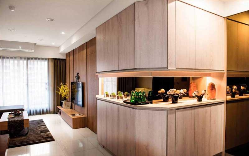 简约风格三居室60平米装修效果图