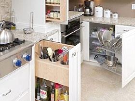 12個櫥柜拉籃巧收納 輕松打造完美廚房