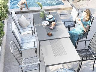 素雅室外组合餐桌椅