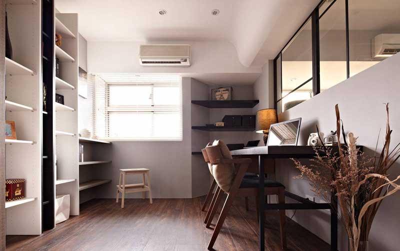 现代简约风格三居室80平米设计图