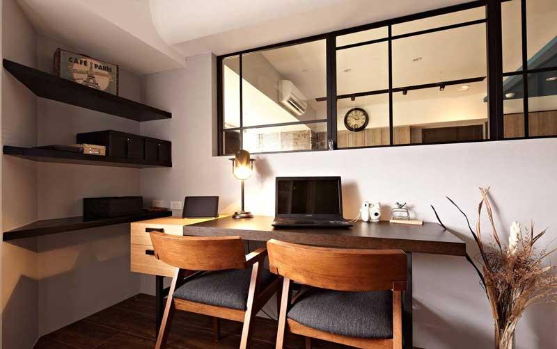 现代简约风格三居室80平米装修图片