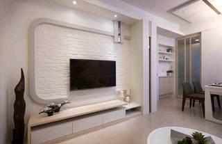 现代简约电视背景墙设计图片
