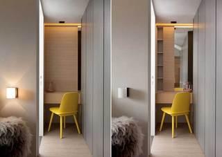 混搭风格四房120平米装修效果图