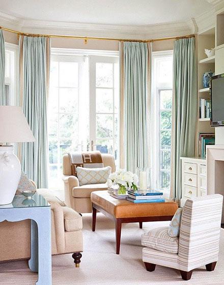 触目即风景 12个唯美客厅落地窗设计图片