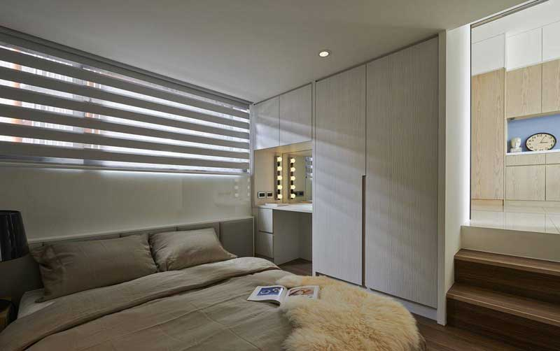 混搭清新卧室设计图片