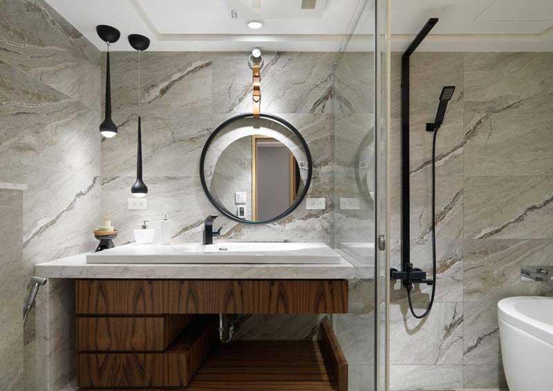 混搭洗手台设计效果图