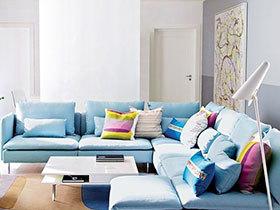 客厅配色新方案 11图活跃家居空间