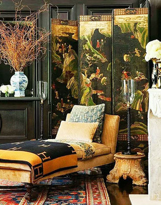 中式古典屏风装饰家