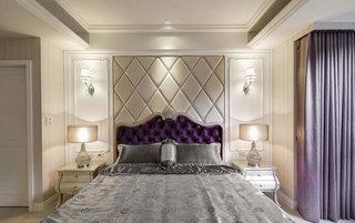 欧式风格二居室90平米装修效果图