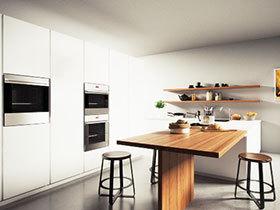 开放式厨房大空间 10图上演简约设计