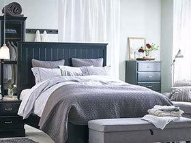 冷色调不太冷 12个宜家卧室案例