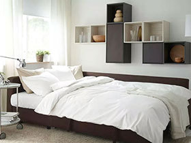 13个宜家风格卧室 恋上你的床