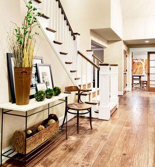 楼梯改造玄关设计