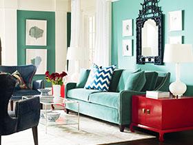 雅致沙发背景墙 10图气质客厅随手造