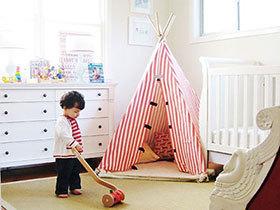 童趣无限 14款儿童游戏帐篷房设计