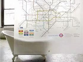 13款浴室创意浴帘 给卫浴添新意
