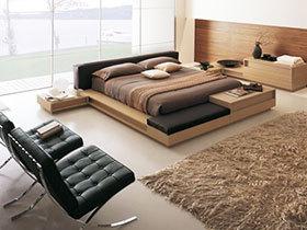 简约风格床 15图造舒适卧室空间