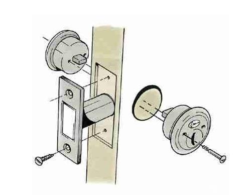 球形门锁怎么安装 锁王支招:球形门锁坏了要如何拆卸_
