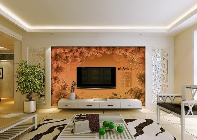 齐家百科 装修百科 装修设计 客厅背景墙   一,客厅风水之电视背景墙