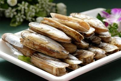 海鲜竹节蛏子图片