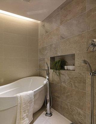 现代简约浴缸设计效果图