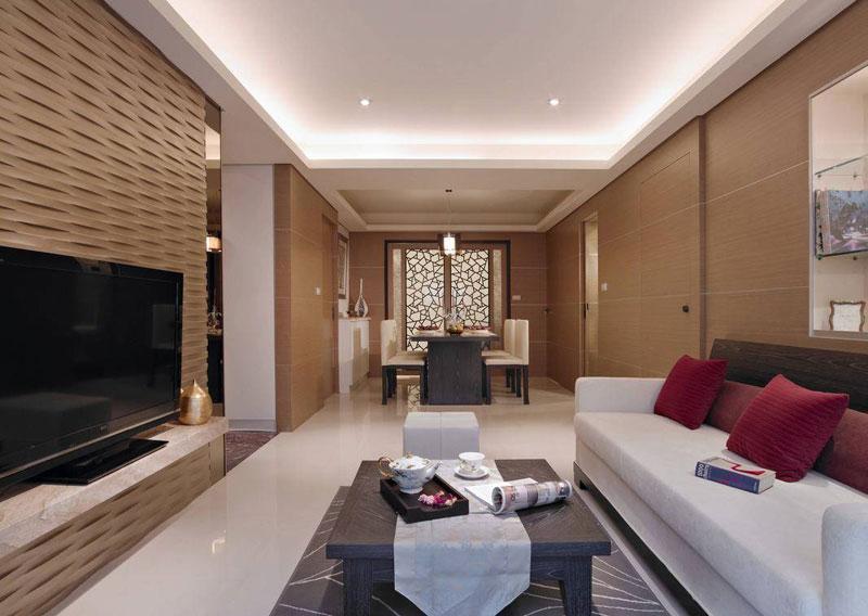简约客厅设计效果图