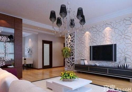 雕花电视背景墙效果图 教你如何打造 性感 十足的家高清图片
