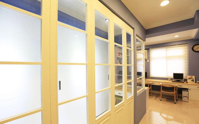 美式新古典书房设计