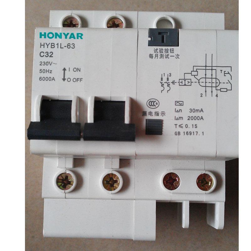 漏电保护器工作原理,漏电断路器和漏电保护器的区别,漏电保护器接线方法,漏电保护器使用注意事项 齐家网