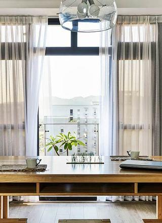 简约风格温馨原木色90平米设计图纸