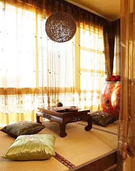 创意飘窗茶室设计