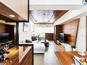 66平米现代简约 经典小户型室内装修