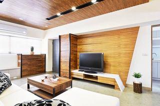 小户型室内装修电视背景墙设计