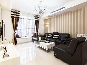 都市风范两居室装修 巧用隔断打造空间