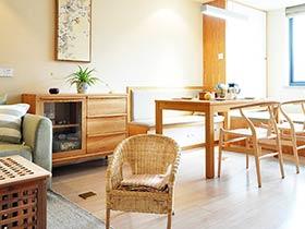 清新宜家日式 舒适两居室装修