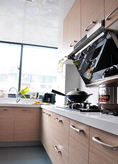 清新日式装修风格厨房设计