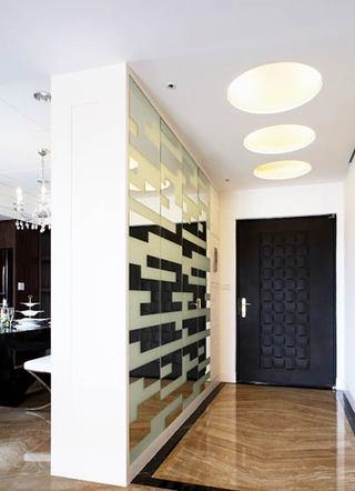 欧式风格装修玄关设计