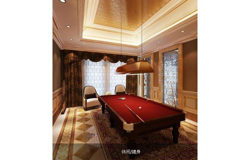 20万以上140平米以上欧式别墅装修效果图