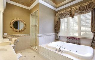 温馨古典欧美卫浴间设计