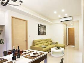 90平米舒适家 现代简约风两室一厅