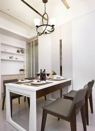 现代简约风格两室一厅效果图